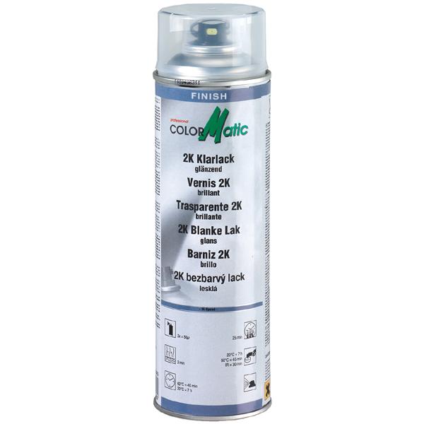 Klarlak spray 2-komponent 500ml fra Motip fra efarvehandel.dk