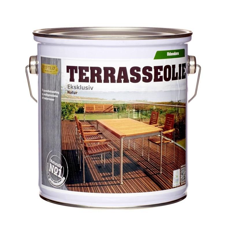 Trip trap – Trip trap terrasseolie eksklusiv 2,5 l natur på efarvehandel.dk