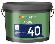 Dyrup Dyrup aqua 40 (2,5 l) hvid (ral 9010) fra efarvehandel.dk