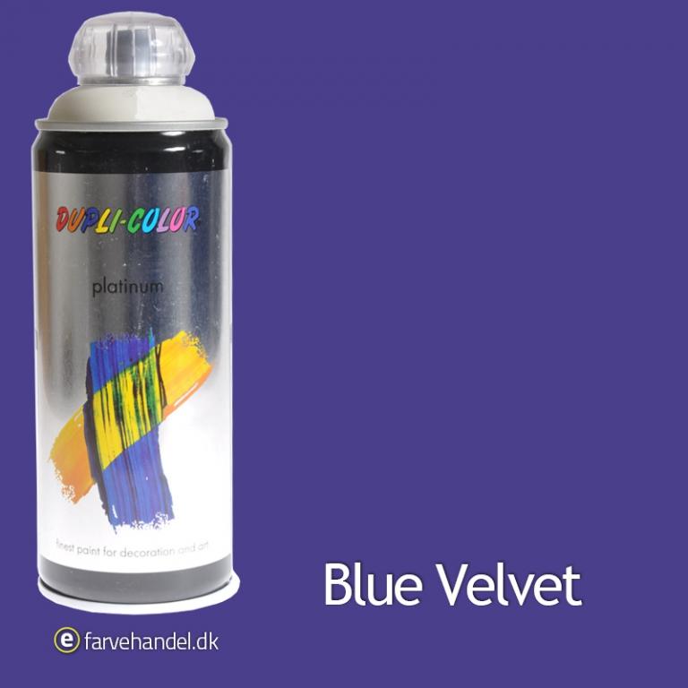 Dupli-color – Platinum blåviolet mat 400ml 6 stk på efarvehandel.dk