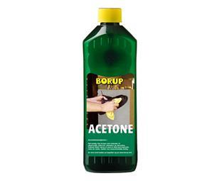 Acetone 0,5 l fra Borup-kemi på efarvehandel.dk