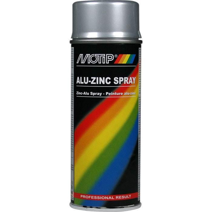 Motip Motip alu-zink spray 400 ml på efarvehandel.dk