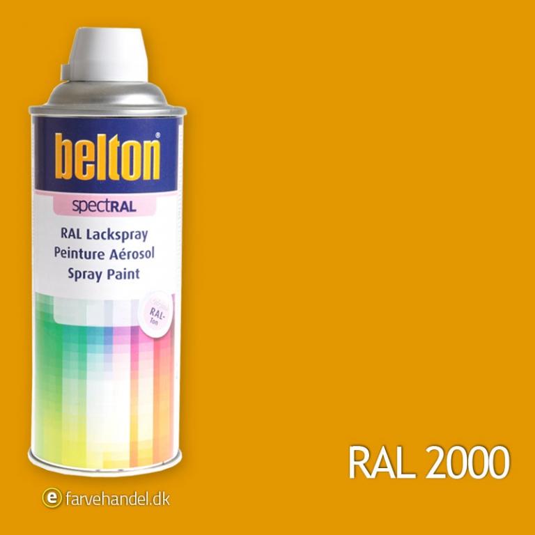 Belton Belton 324 gulorangeral 2000 på efarvehandel.dk