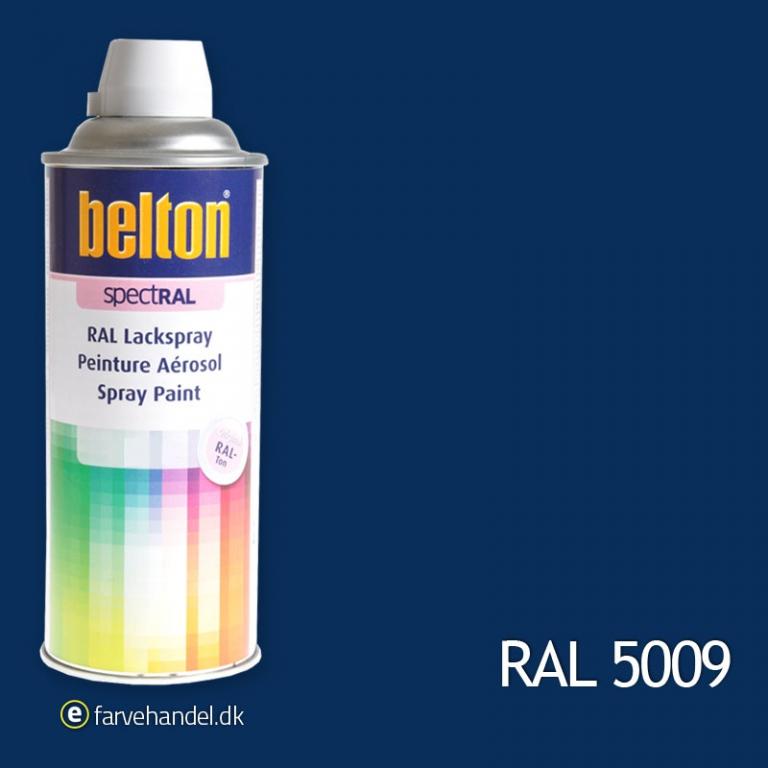 Belton Belton 324 azurblå ral 5009 på efarvehandel.dk