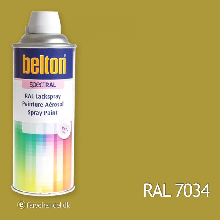 Belton 324 gulgrå ral 7034 fra Belton fra efarvehandel.dk