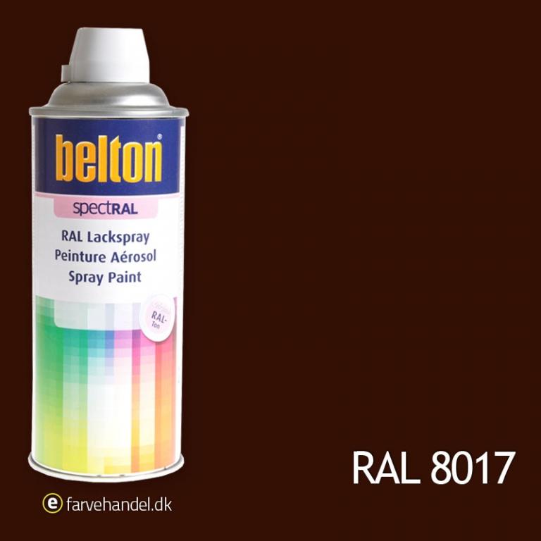 Belton Belton 324 chokobrun ral8017 fra efarvehandel.dk