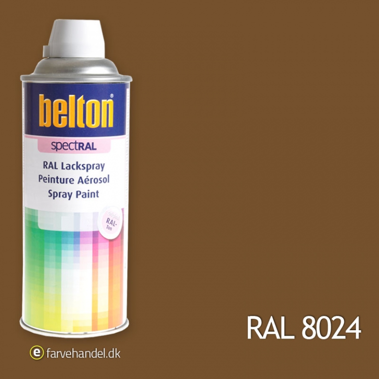 Belton Belton 324 beigebrun ral8024 fra efarvehandel.dk