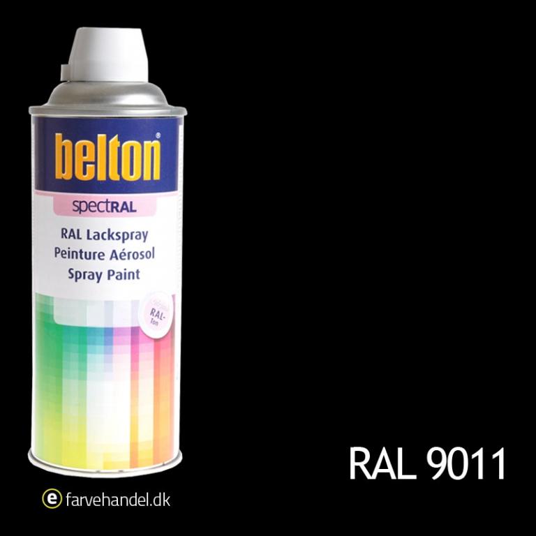 Belton Belton 324 grafitsort ral9011 fra efarvehandel.dk