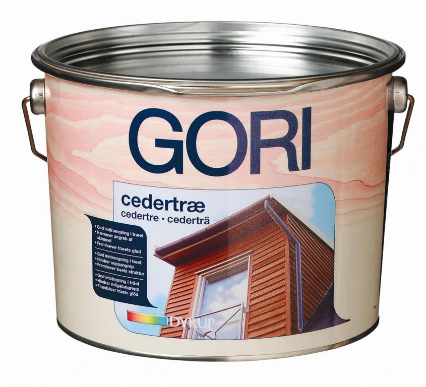 Gori – Gori cedertræ 2,5 l på efarvehandel.dk