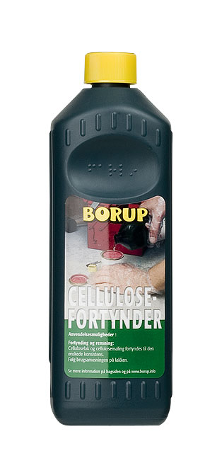 Borup-kemi – Cellulosefortynder 1l fra efarvehandel.dk