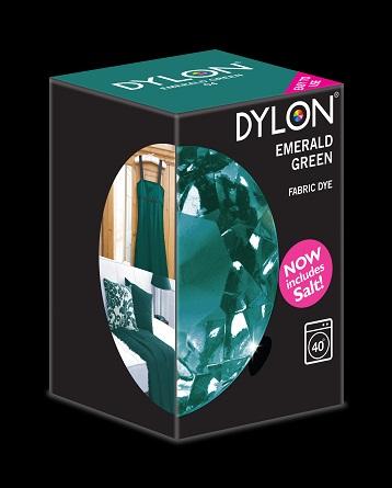 Dylon maskinfarve (emerald green) all-in-1 fra Dylon på efarvehandel.dk