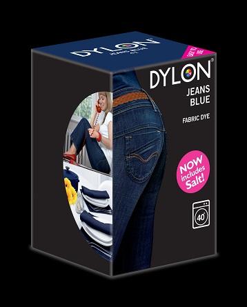 Dylon – Dylon maskinfarve (jeans blue) all-in-1 fra efarvehandel.dk