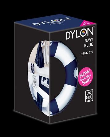 Dylon maskinfarve (navy blue) all-in-1 fra Dylon på efarvehandel.dk