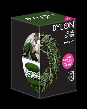 Dylon Dylon maskinfarve (olive green) all-in-1 fra efarvehandel.dk