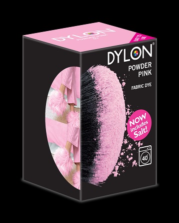 Dylon Dylon maskinfarve (powder pink) all-in-1 på efarvehandel.dk