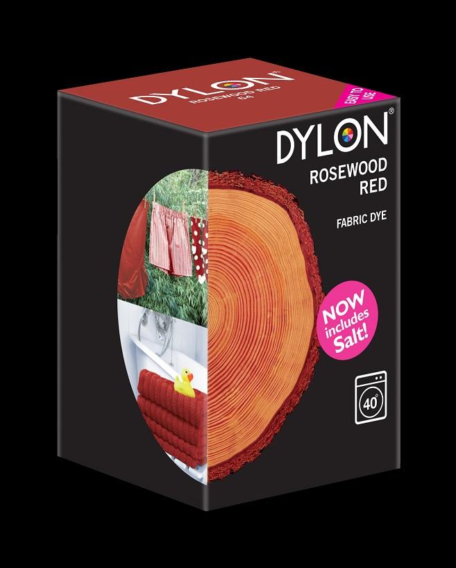 Dylon Dylon maskinfarve (rosewood red) all-in-1 på efarvehandel.dk