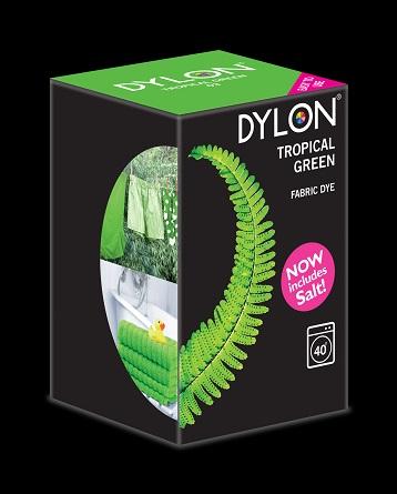 Dylon – Dylon maskinfarve (tropical green) all-in-1 fra efarvehandel.dk