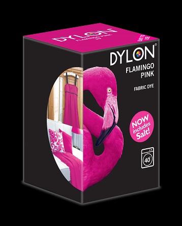 Dylon Dylon maskinfarve (flamingo pink) all-in-1 fra efarvehandel.dk