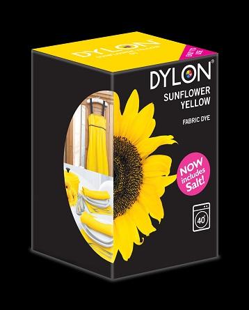 Dylon maskinfarve (sunflower yellow) all-in-1 fra Dylon på efarvehandel.dk