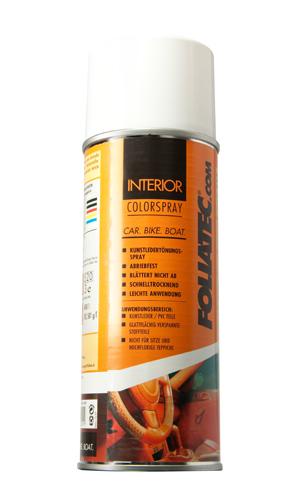 Foliatec interiør color spray - sort mat fra Foliatec på efarvehandel.dk