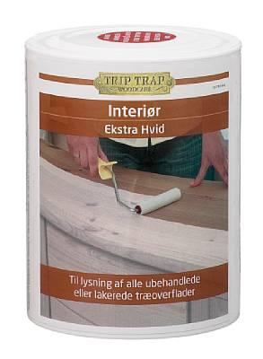 Trip trap – Trip trap interiør ekstra hvid 3/4 l fra efarvehandel.dk