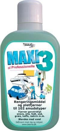 Besma Maxi 3 rengøring / affedtning all-round 1 l på efarvehandel.dk