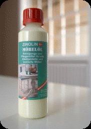 Zinolin – Møbel olie 250 ml på efarvehandel.dk