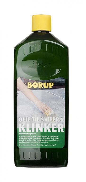 Olie til granit skifer og klinker 1 l fra Borup-kemi på efarvehandel.dk