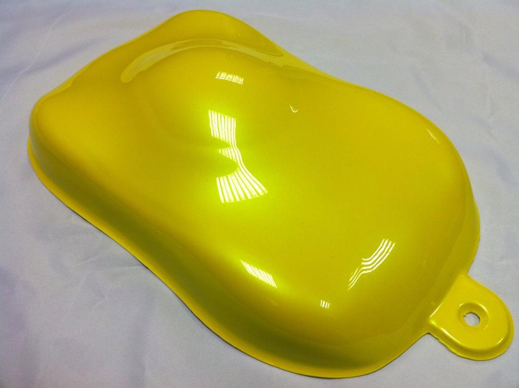 Efarvehandel.dk – Pearl spray (gul) 400ml på efarvehandel.dk