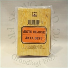 Bejdse 83 (mellembrun eg) fra Herdins på efarvehandel.dk