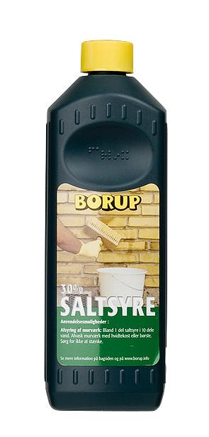 Borup-kemi Saltsyre 30% 0,5 l på efarvehandel.dk