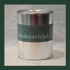 Skovgaard & frydensberg – Skoletavlelak 1 liter gul på efarvehandel.dk