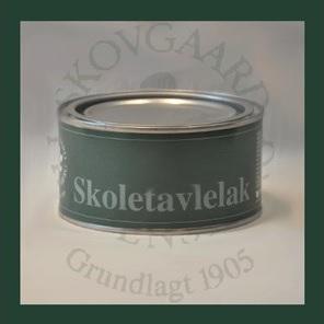 Skoletavlelak 500ml hvid fra Skovgaard & frydensberg fra efarvehandel.dk