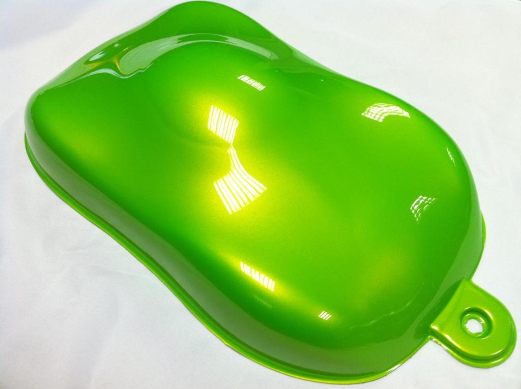 Efarvehandel.dk Pearl spray (grøn) 400ml fra efarvehandel.dk
