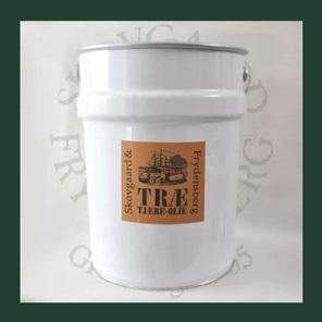 Skovgaard & frydensberg – Trætjæreolie 20 liter tjærebrun på efarvehandel.dk