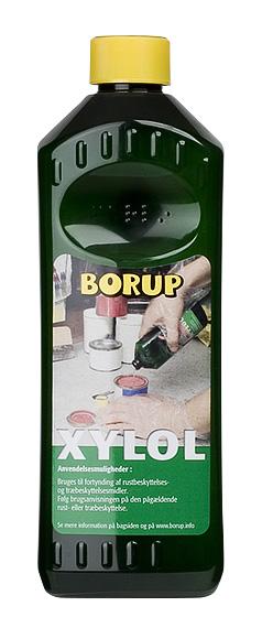Borup-kemi Xylol (xylen) 0,5 l på efarvehandel.dk