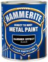 Hammerite – Hammerite 250 ml 250ml sort  glat blank fra efarvehandel.dk