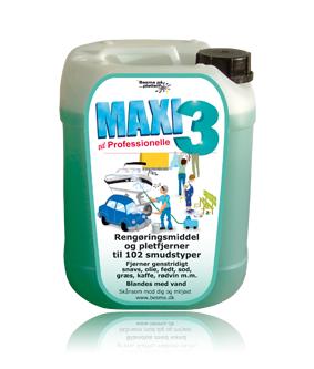 Maxi 3 rengøring / affedtning all-round 5 l fra Besma på efarvehandel.dk