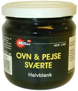 Ovn & pejse sværte fra Miller på efarvehandel.dk