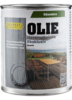 Trip trap Trip trap havemøbelolie eksklusiv 3/4l sort på efarvehandel.dk