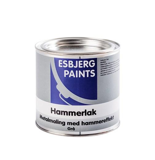 Image of   Esbjerg Hammerlak Blå 3/4 L
