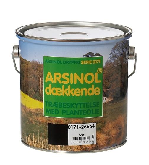 Image of   Arsinol Dækkende 2,5 L Almueblå