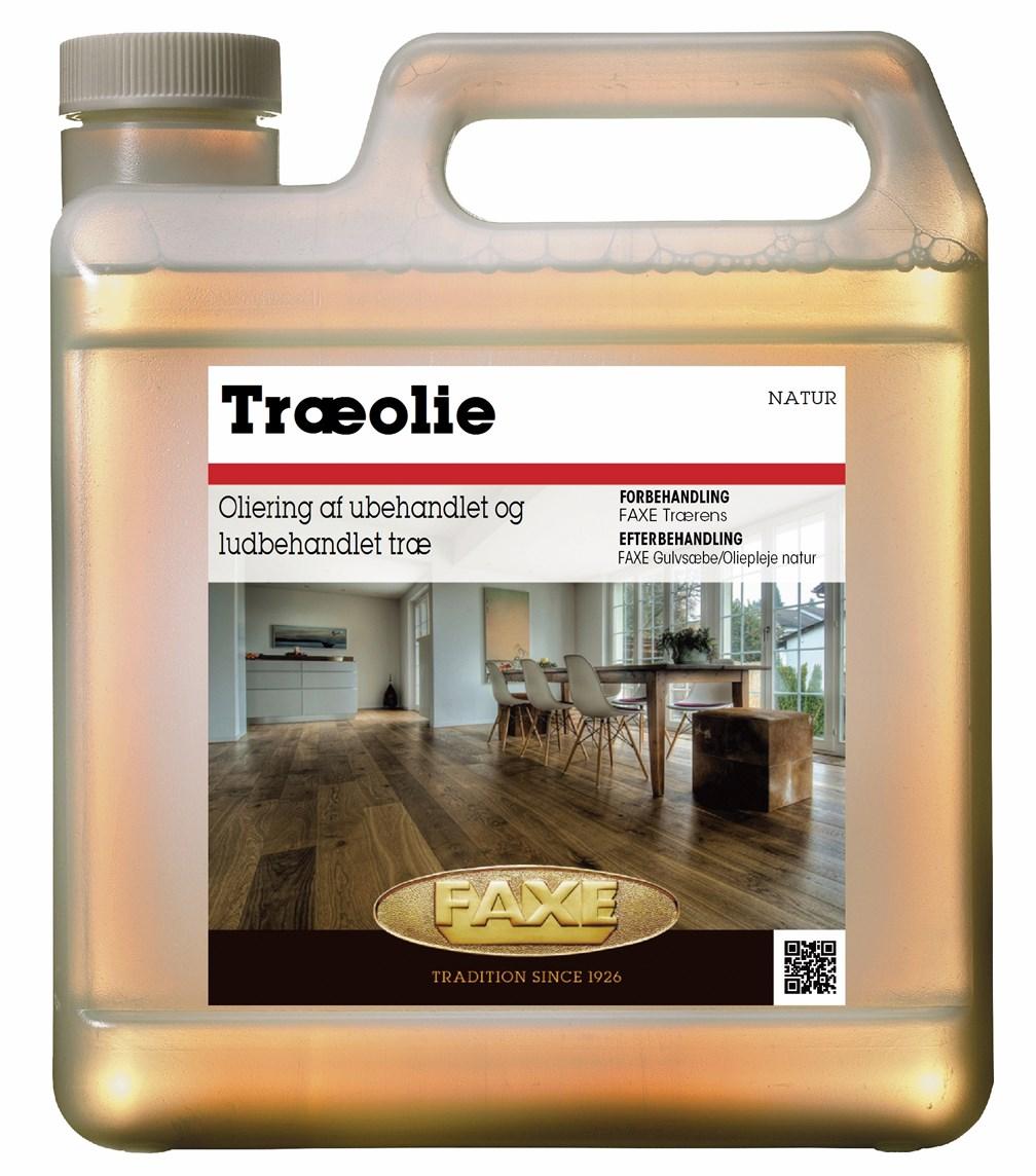 Image of   FAXE Træolie 2,5 L Ekstra hvid