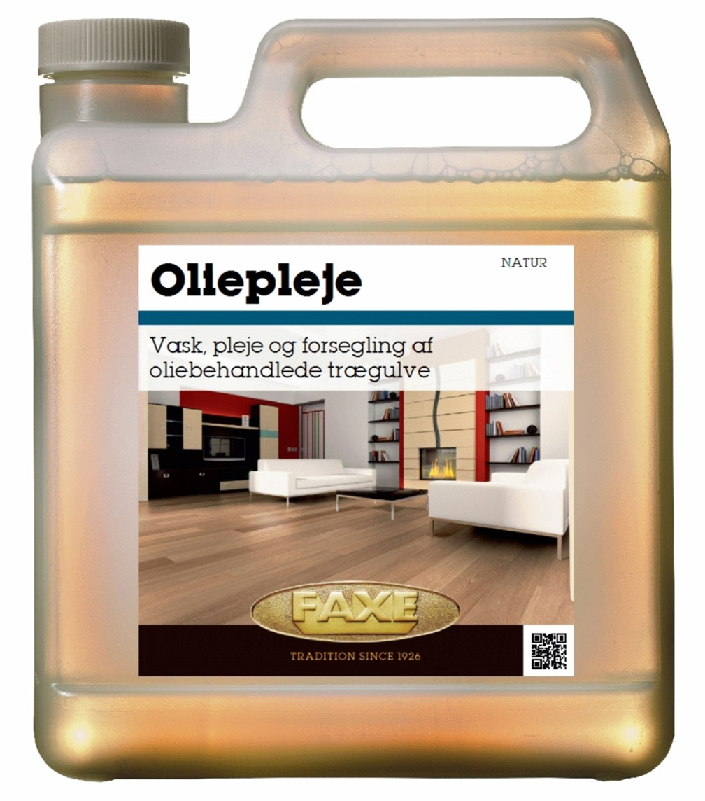 Image of   FAXE Oliepleje 1 L Hvid