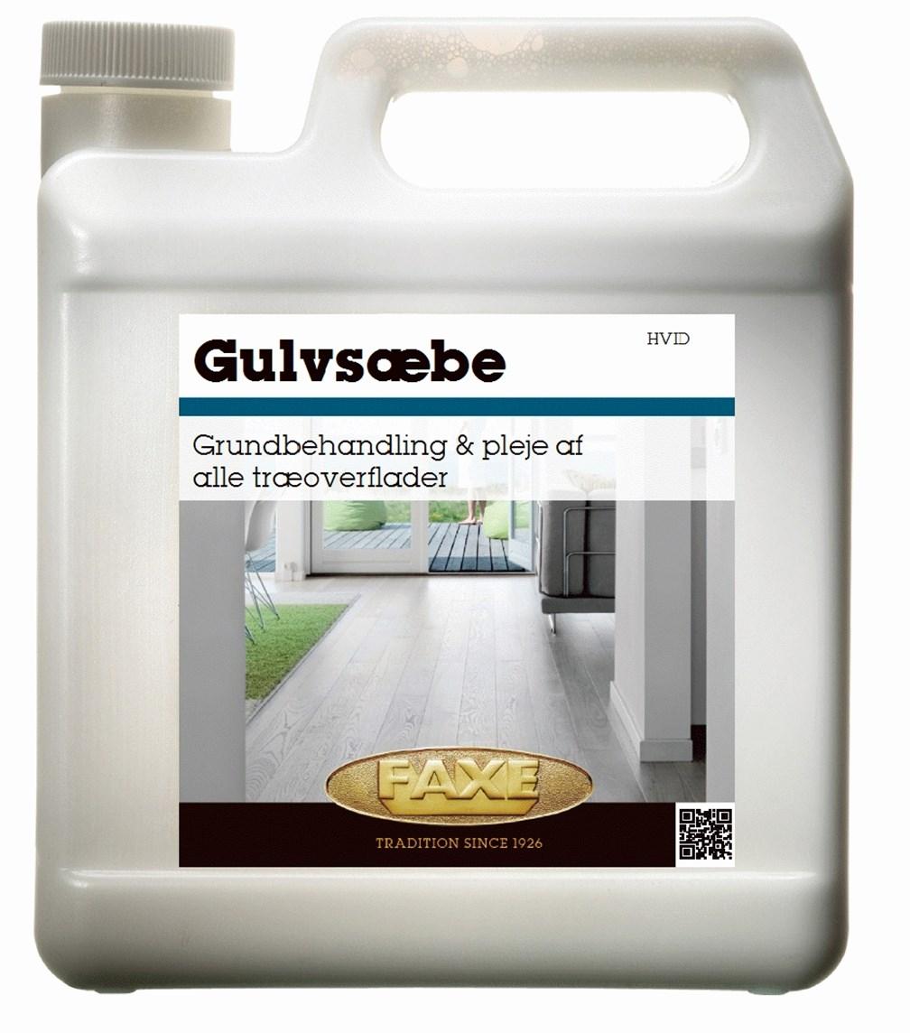 Image of   FAXE Gulvsæbe 1 L Hvid