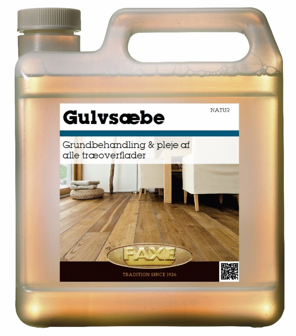 Image of   FAXE Gulvsæbe 2,5 L Natur