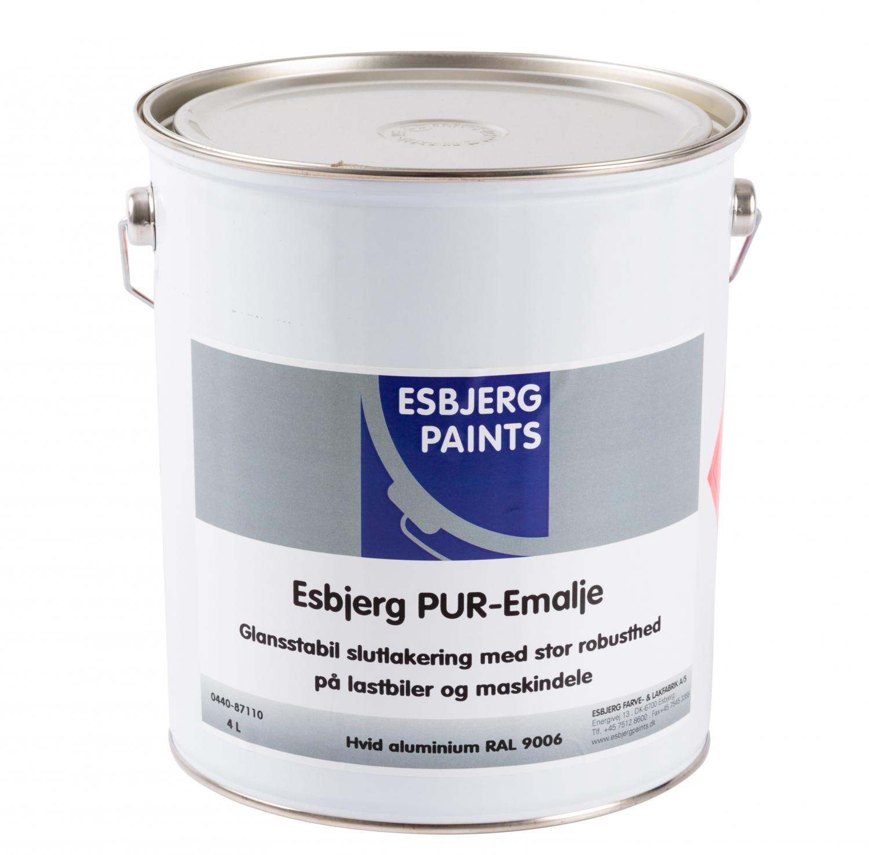 Image of   Esbjerg PUR-Emalje 4 L Cementgrå