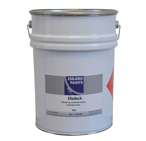 Image of   Esbjerg Efadeck TM gulvmaling 20 L Klar (tranparent)