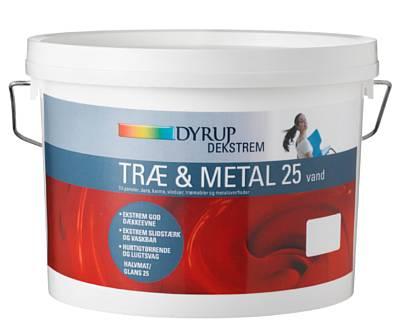 Image of   Dekstrem træ & metal akryl 25 2,25 L Hvid