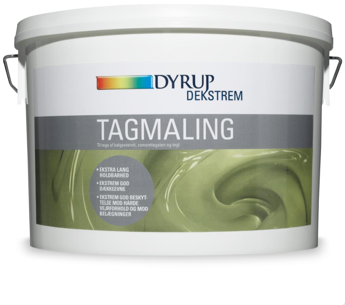 Image of   Dekstrem tagmaling sort 10 L